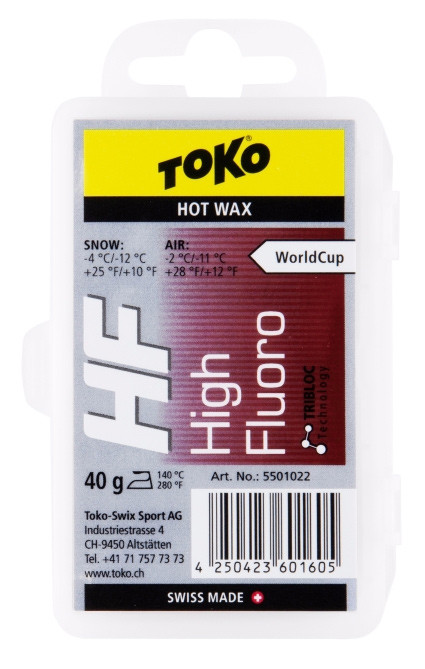 sjezdový vosk TOKO HF Hot Wax