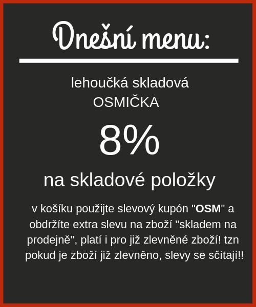 Dnešní menu skalová OSMIČKA - 7 - 15.03.2020