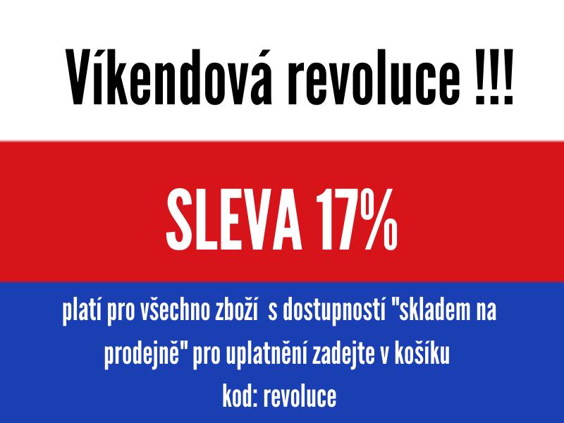 Víkendová revoluce - 17%