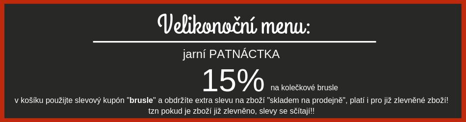Velikonoční sleva 15% - A