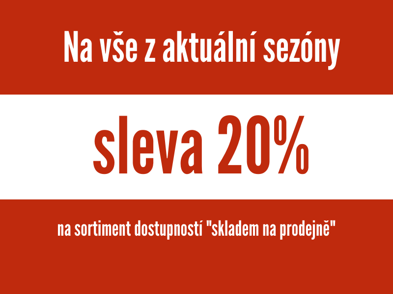 20% na vše skladem- F